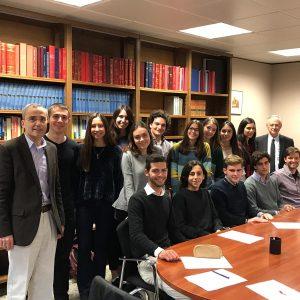 V SIDES (Seminario Interdisciplinar de Derecho y Ética Social) Septiembre-Diciembre 2018